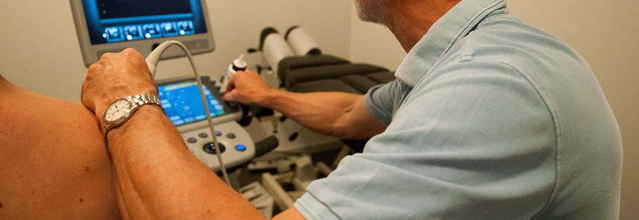 ultralyd scanning hos kiropraktor